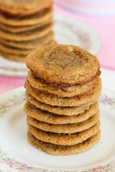 Flourless Peanut Butter Cookies #glutenfree (use honey in place of sugar)