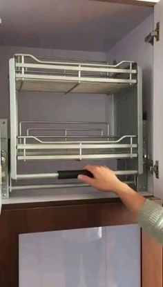Kitchen Pantry Design, Modern Kitchen Cabinets, Modern Kitchen Design, Interior Design Kitchen, How To Make Kitchen Cabinets, Free Standing Kitchen Cabinets, Stainless Steel Kitchen Cabinets, System Kitchen, Modern Kitchen Interiors