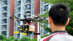 Drone Delivery In India Starts With Pizza Served On Time