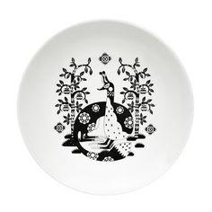 """Nämä Taika-lautaset ja kulhot, joissa kuva on vain tuolla astian """"pohjalla"""". Mustavalkoiset tai värilliset. Ei muuta Taikaa. :"""