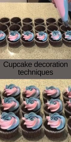 Wilton Decorating Tips, Cake Decorating Frosting, Cake Decorating Set, Cake Decorating Techniques, Piping Icing, Piping Tips, Buttercream Frosting, Cupcake Icing, Cupcake Cakes