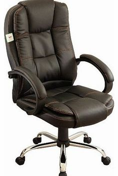 hjh OFFICE Executive chair office chair RACER 200 art leather red