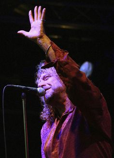 Description of . British rock legend Robert Plant performs with his band the Strange Sensation during the Somerset House Summer Series at Somerset House on July 10, 2006 in London, England.  (Photo by Jim Dyson/Getty Images)