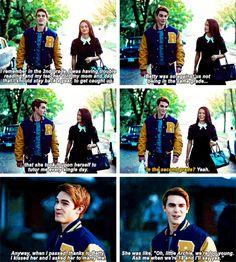 Archie & Veronica #Riverdale #Season1 #1x02