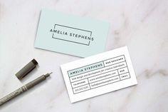 Modern Business Card Template - Business Cards - 1