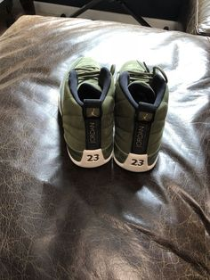 ed962905535 Air Jordan Retro 12 CP3 Chris Paul Class of 2003 Olive Brand New!  fashion