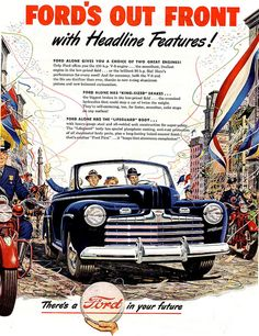 1946 Ford Ad