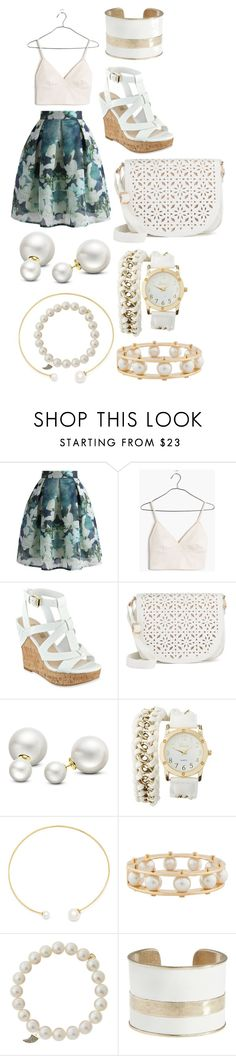 """""""ideas"""" by hannahleighhh on Polyvore featuring Chicwish, Madewell, GUESS, Under One Sky, Allurez, Charlotte Russe, Fallon, Lele Sadoughi, Sydney Evan and Lucky Brand"""