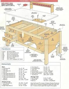#2111 Garage Workbench Plans - Workshop Solutions