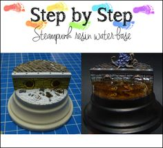 MaGie Miniature Painting: Step-by-Step: Steampunk Resin Water Base