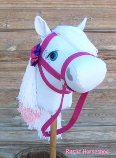 Standard Size Stick Horse Mustang Collection por RusticHorseShoe