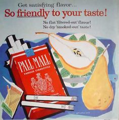 Vintage Tobacco/ Cigarette Ads of the 1950s