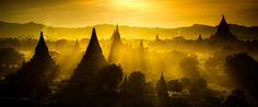 Sunset in Bagan Photo by Wealon B. — National Geographic Your Shot