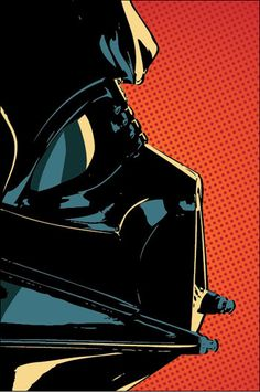 DARTH VADER Star Wars Illustration by ellasgoods on Etsy