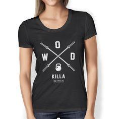 """WOD Killa (Crossfit Shirt)"" Ladies Tees & Tanks"