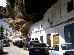 A town that lives under a rock