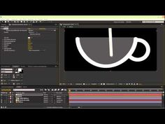 Efecto liquido After Effects Parte 01 - YouTube