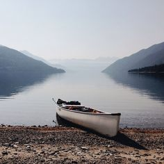Calm waters for a morning paddle