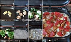 Cuisine Paradise   Singapore Food Blog   Recipes, Reviews And Travel: Happy Call Pan Recipes - Baked Sweet Potato, Sizzling Tofu and Claypot Rice