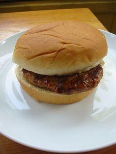 Chicken Burger  Low Sodium!
