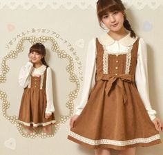 Ribbon brooch with a suede-like flare Country One Piece One Piece WonderRocket (Wonder Rocket)
