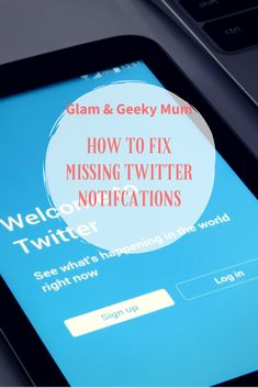 Are you not receiving all of your Twitter notifications? Find out how to check if you're missing notifications and how to fix it!   http://glamandgeekymum.com/how-to-fix-missing-twitter-notifications