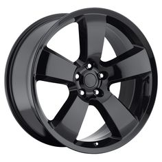 Dodge Charger 2006-2010 20x8 5x115 45 - SRT8 Replica Wheel - (awd Charger) - Gloss Black With Cap
