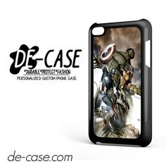 Avengers Captain America Hulk And X-Man For Ipod 4 Case Phone Case Gift Present