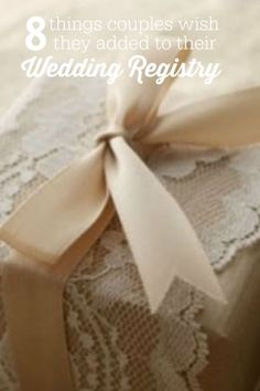 8 Things Couples Wish They Added to Their Wedding Registry | eBay