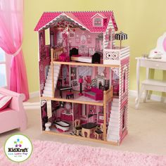 Amelia Dolls House is a must for any dolls fans. Its time to play with your favourite dolls!.