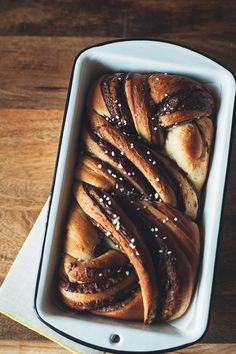 Nutella Babka by @yehmolly | west elm