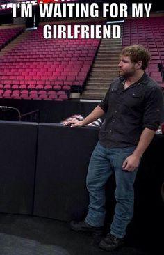 Be there in a sec ;) Dean Ambrose
