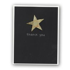 0902-Thank you star card