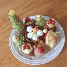 クリスマスの3Dちぎりパン♡