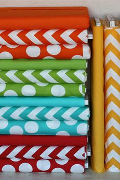 SUPPLIES | #chevron Fabric