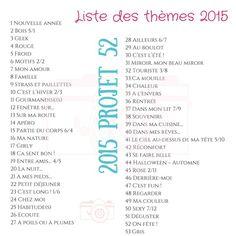 Chroniques et décadences d'une pintade!: Projet 52 - 2015 semaine #1