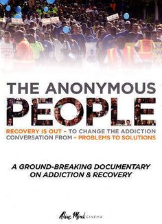 THE ANONYMOUS PEOPLE NEW DVD DOCUMENTARY ON ADDICTION & RECOVERY FREE SHIP US