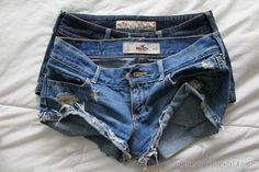 hollister shorts = summer must haves Hollister Clothes, Hollister Shorts, Cute Shorts, Denim Shorts, Jeans, Short Outfits, Summer Outfits, Summer Clothes, Summer Shorts