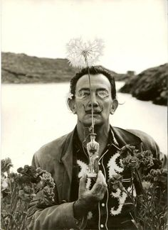 Salvador Dalì by Irving Penn