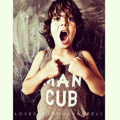 """Image of Toddler """"Man Cub"""" Tank"""