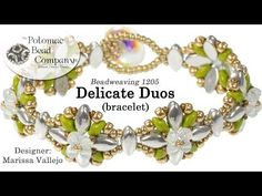 Delicate Duos Bracelet ~ Seed Bead Tutorials