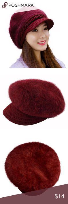 Women Girls Winter Warm Fluffy Wool Knit Hat About the product  The Knit hat  with fluffy wool will keep your head and ears warm a7f4473c74eb