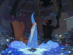 *MERLIN ~ The Sword in the Stone, 1963