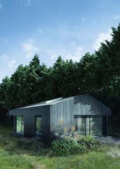 The natural way to holiday. Ecospace® holiday retreats take the common holiday lodge and transform it into a luxurious yet sustainable sanctuary. Our holiday Small Summer House, Prefab Cottages, Wooden Facade, Wooden Houses, Hotels, Garden Studio, Garden Office, Architect House, Cabins In The Woods