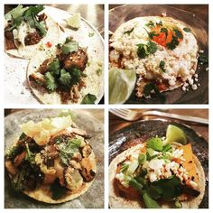 TACOS FOR DAYS @breddostacos tonight with my favourite food blogger @teveelkookboeken tonight. We sampled nearly every taco - favourites were the beef short rib mushroom & hispi cabbage egg with macadamia mole and the crab special. The egg was a complete revelation and unlike anything I have ever had before. I loved the Masa Harina chicken too. Not so keen on the Kung Pao pork belly as quite salty. Do order a couple at a time particularly if you are sitting along the wall on the benches as…