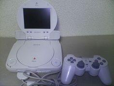 PlayStation PSone SCPH-101 con la minipantalla LCD accesoria