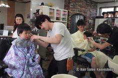 #はじめてのカット #赤ちゃんカット #ヘアーサロンカモシダ Kids Cuts, Sari, Fashion, Saree, Moda, Fashion Styles, Fashion Illustrations, Saris, Children Haircuts