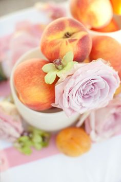 The theme of the wedding, I've already decided, would be desert, peaches, and roses.