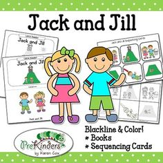 Jack And Jill on Jack And Jill Sequencing Activity Cards