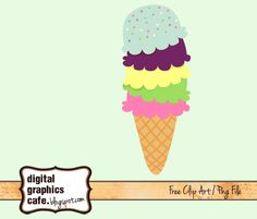 Sharing This Cute Ice Cream Clipart Graphics